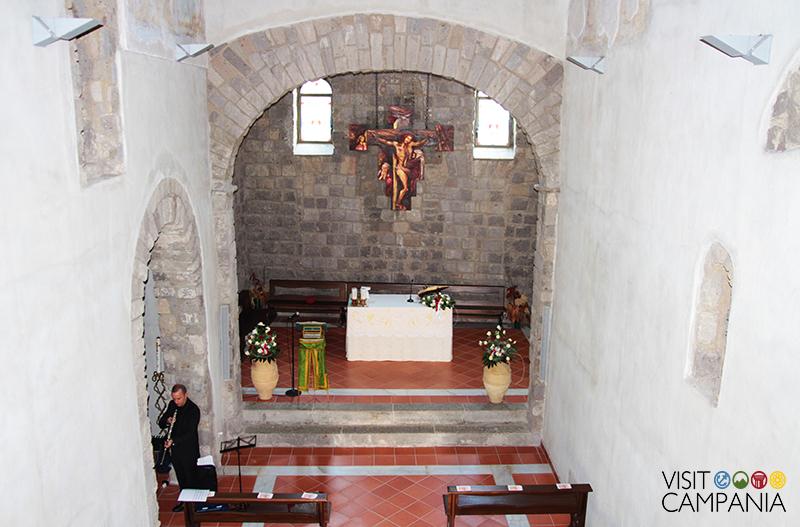 Eremo San Vitaliano navata