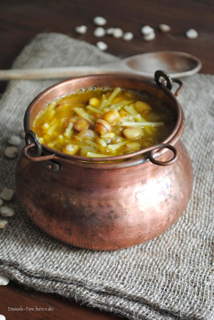La pasta con le cicerchie tra i piatti capresi rurali. Foto via paneburroealici