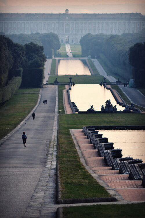 Visitare Reggia di Caserta - Parco reale