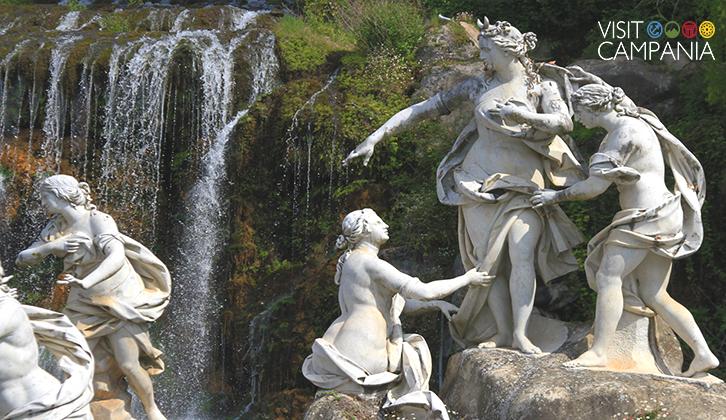 visitare reggia di caserta - Diana e Atteone