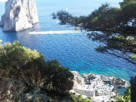 5 spiagge da visitare in Campania, La Fontelina a Capri