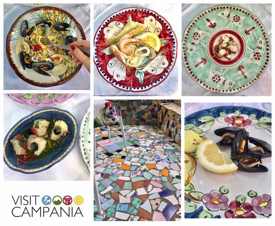 Buongiorno Ceramica a Vietri sul Mare ristorante pizzeria