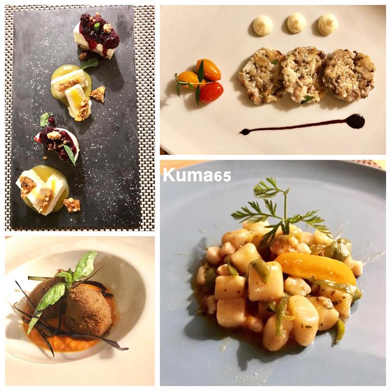 KUMA65 pizza e cucina contemporanea sul Lago Fusaro