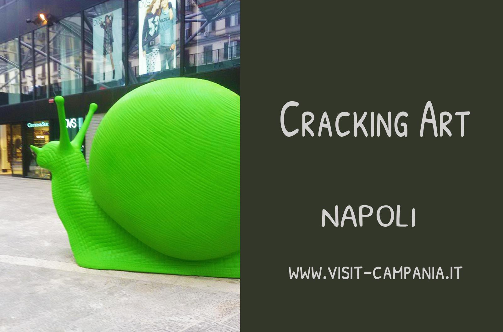 Cracking art Napoli lumache