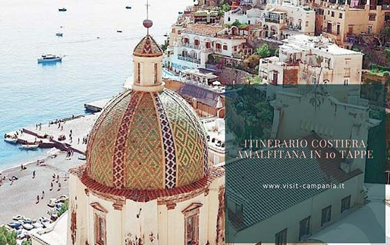 Cartina Costiera Amalfitana E Capri.Itinerario Costiera Amalfitana Cosa Fare E Cosa Vedere Visit Campania