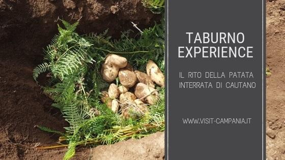 taburno experience rito patata interrata cautano visit campania