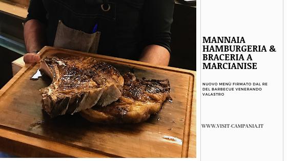 Mannaia Hamburgeria & Braceria a Marcianise visitcampania
