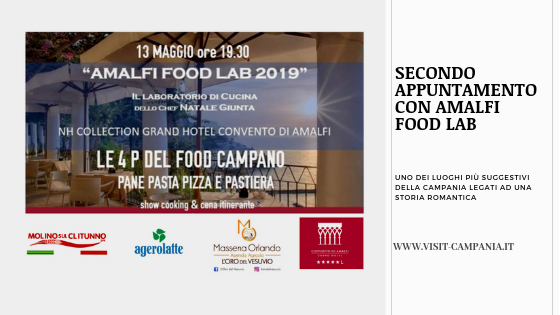 amalfi food lab nh collection grand hotel convento amalfi visit campania