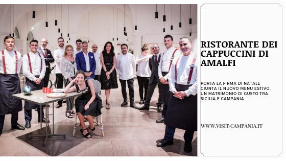 Ristorante dei Cappuccini di Amalfi nh collection hotel convento visitcampania