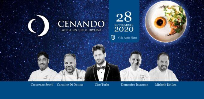 cenando sotto un cielo diverso 2020