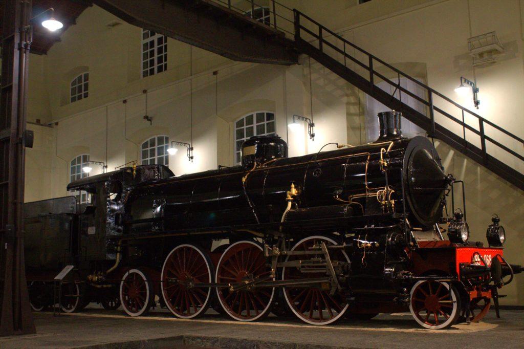 locomotiva a vapore Museo Nazionale Ferroviario di Pietrarsa
