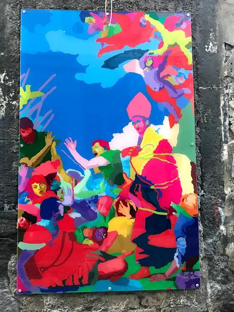 centro di napoli san gennaro street art visitcampania san gregorio armeno