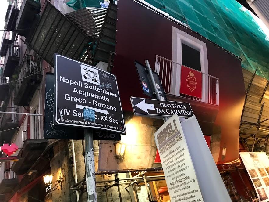 napoli sotterranea centro storico di napoli visitcampania