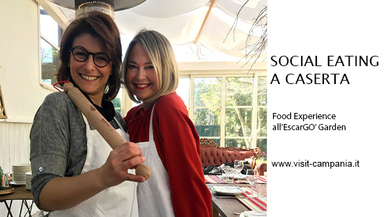 social eating escargo garden caserta food experience
