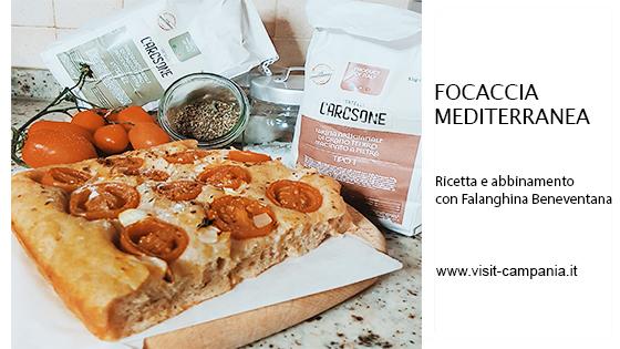 focaccia mediterranea ricetta