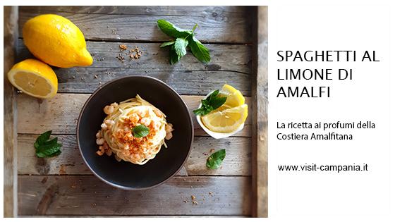 spaghetti limone sfusato amalfitano